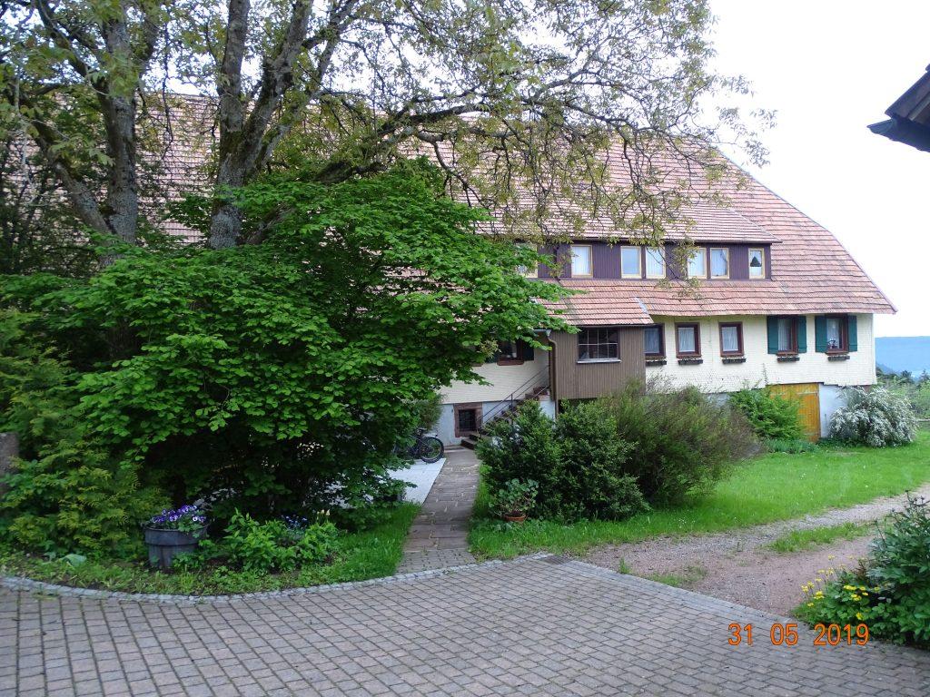 Einer der beiden Blumenhöfe in Schömberg