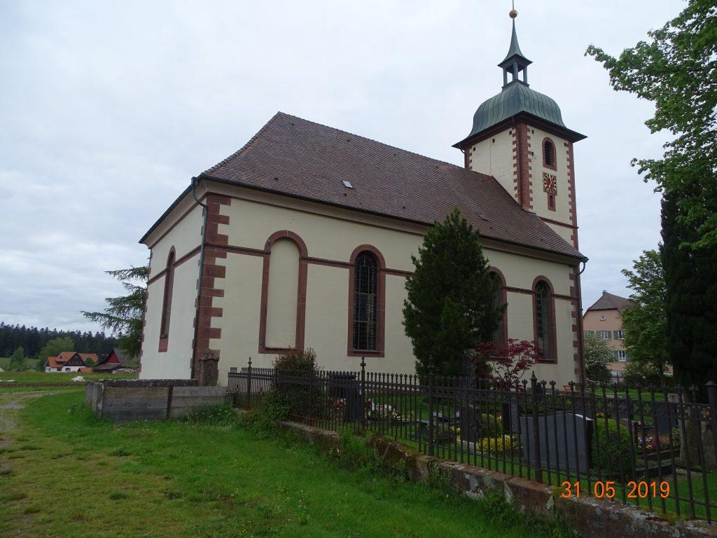 Kirche in Schömberg