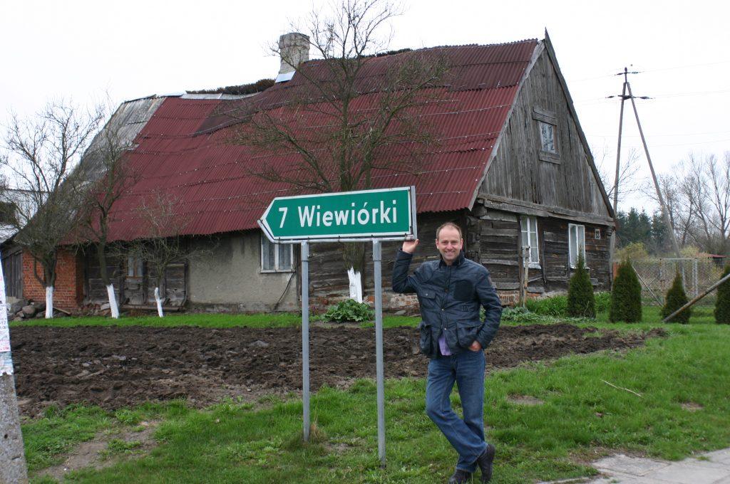 Richtung Weburg (Wiwiorki)